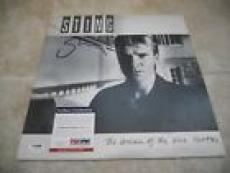 Sting Police The Dream Of The Blue Turtles SignedAutographed  LP PSA Certified