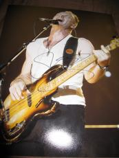 STING SIGNED AUTOGRAPH 11x14 PHOTO THE POLICE IN PERSON PROMO ROCK AND ROLL O