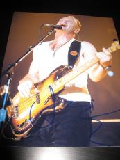 STING SIGNED AUTOGRAPH 8x10 PHOTO IN PERSON THE POLICE IN PERSON COA ROXANNE D