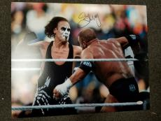 Sting Signed Autograph WWE WCW 16X20 WRESTLEMANIA Photo Picture JSA AUTOGRAPHED