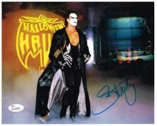 Sting Signed Autograph WWE WCW 8x10 Photo Picture JSA AUTHENTICATED AUTOGRAPHED