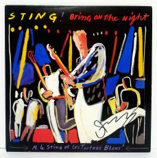 "STING Signed Autographed ""BRING ON THE NIGHT"" Album LP PSA/DNA #Y63973"
