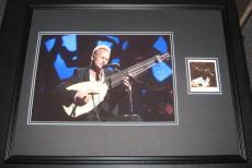 Sting Signed Framed 18x24 Photo Poster Display JSA