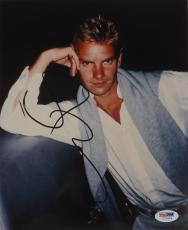 Sting Signed The Police Authentic Autographed 8x10 Photo (PSA/DNA) #I72473