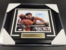 STING THE ICON WWE WWF FRAMED 8x10 PHOTO AUTOGRAPHED JSA COA SIGNED AUTHENTIC