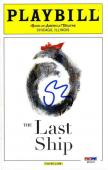 Sting The Last Ship Autographed Signed Playbill Authentic PSA/DNA COA