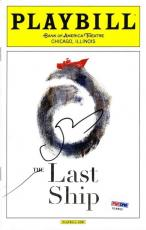 Sting The Last Ship Autographed Signed Playbill Certified Authentic PSA/DNA COA