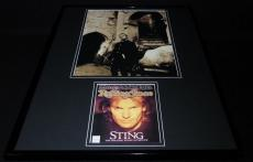 Sting The Police 16x20 Framed Rolling Stone Cover Set