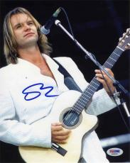 Sting The Police Autographed Signed 8x10 Photo Certified PSA/DNA COA