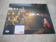 Sting The Police Signed Autographed 11x14 Live Photo PSA Certified #1