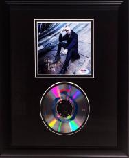 "Sting ""The Police"" Signed The Last Ship CD Cover Framed PSA/DNA Cert # W84285"