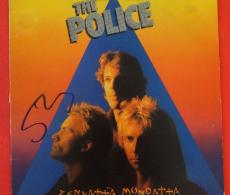 Sting The Police Zenyatta Mondatta Signed Autographed Record Album Lp