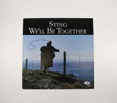 Sting We'll Be Together Autographed Signed Album Certified PSA/DNA COA