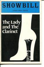 Stockard Channing Paul Rudd Josef Sommer The Lady and the Clarinet Playbill