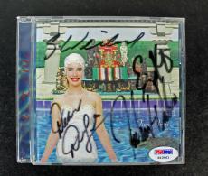 Stone Temple Pilots (4) Scott Weiland Signed Cd Case W/ Disc Psa/dna #s10561