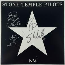 STONE TEMPLE PILOTS Autographed Album. Signed by all 4 w Scott Weiland PSA/DNA