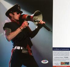 STONE TEMPLE PILOTS!! Scott Weiland Signed VELVET REVOLVER 8x10 Photo #1 PSA/DNA