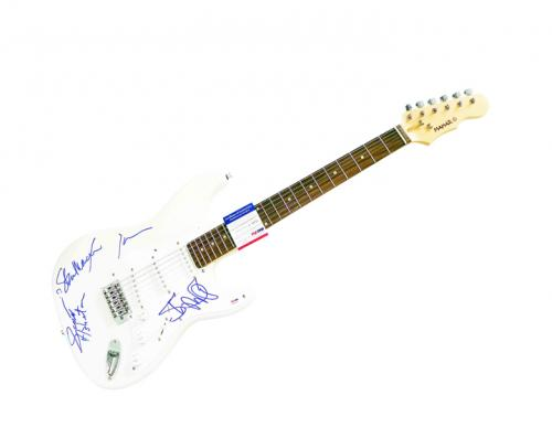 Iggy & The Stooges Autographed Signed Guitar UACC RD Psa/Dna AFTAL