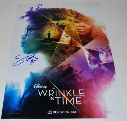 STORM REID signed (A WRINKLE IN TIME) 12X18 movie poster photo *MEG* W/COA #2