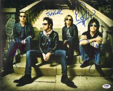 STP Stone Temple Pilots SCOTT WEILAND +3 Signed 11x14 Photo PSA/DNA #Q05261