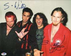 STP Stone Temple Pilots SCOTT WEILAND +3 Signed 11x14 Photo PSA/DNA #W00675