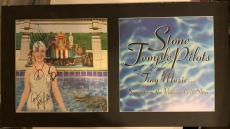 STP Stone Temple Pilots SCOTT WEILAND +3 Signed Poster Flat PSA/DNA #Y01653