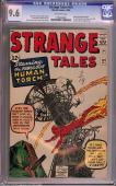 Strange Tales  # 101 Cgc 9.6 1 Of 3 Highest Graded Copy Cgc # 1199926001