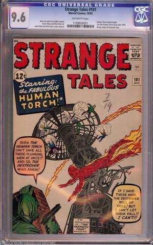 Strange Tales  # 101 Cgc 9.6  Highest Graded Copy Cgc # 1199926001
