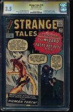 Strange Tales #110 Cgc 3.5 Ss Stan Lee 1st App Of Dr Strange #1279195020