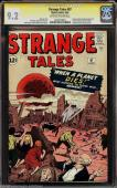 Strange Tales 97 Cgc 9.2 Oww Ss Stan Lee 1st Aunt May Uncle Ben Cgc #1234719001