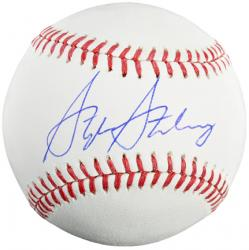 Stephen Strasburg Washington Nationals Autographed Baseball - Mounted Memories