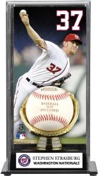 Stephen Strasburg Washington Nationals Gold Glove Display Case