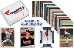 Tom Glavine Collectible Lot of 20 MLB Trading Cards - Mounted Memories