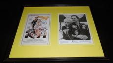 Stroker Ace Burt Reynolds & Loni Anderson Signed Framed 16x20 Photo Display JSA