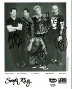 Sugar Ray Band Signed Autographed 8x10 Photograph McGrath PSA/DNA