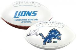 Ndamukong Suh Detroit Lions Autographed Lions Logo Pro Football