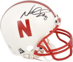Ndamukong Suh Nebraska Cornhuskers Autographed Mini Helmet