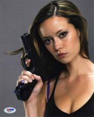 Summer Glau Sexy Terminator Autographed Signed 8x10 Photo Certified PSA/DNA COA
