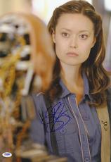 Summer Glau SIGNED 12x18 Photo Isabel Rochev Arrow PSA/DNA AUTOGRAPHED