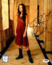 "SUMMER GLAU Signed ""Firefly Serenity"" 8x10 Photo PSA/DNA #Y93260"
