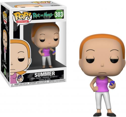 Summer Rick & Morty #303 Funko Pop!