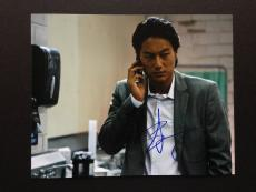 Sung Kang Signed 8x10 Photo Autograph Fast Furious Five Six 5 6 Gang Related