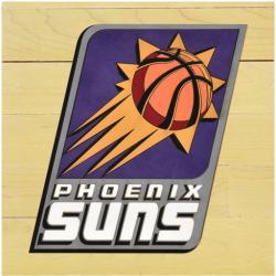 "NBA Phoenix Suns 12"" x 12"" Logo Floor Piece"