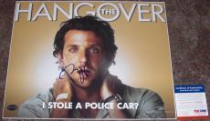 SUPER FUNNY!!! Bradley Cooper Signed THE HANGOVER 11x14 Photo #1 PSA/DNA