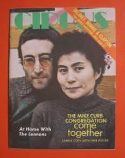Super Rare Promo Copy Circus Magazine April 1970 John Lennon Yoko Ono Ex Cond