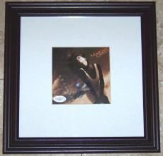 SUPER SALE! Mariah Carey Signed Autographed Framed CD Cover Photo JSA COA WOW!