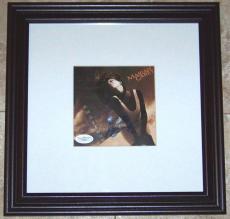 SUPER SALE! Mariah Carey Signed Autographed Framed CD Cover Photo JSA COA WOW!