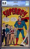 Superboy #1 Cgc 8.0 Off White To White Pages Cgc #1492906002