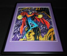 Superman 1993 DC Framed ORIGINAL 12x18 Poster Display