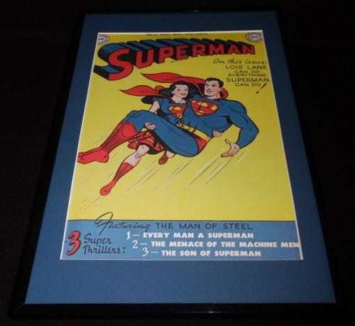 Superman #57 DC Lois Lane Framed 11x17 Cover Poster Display Official Repro
